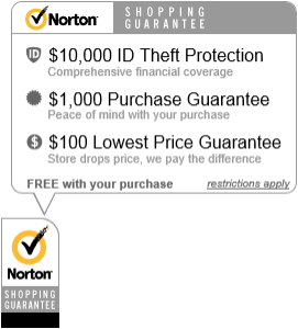 Norton Shopping Guarantee seal