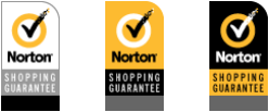 Norton Shopping Guarantee seals